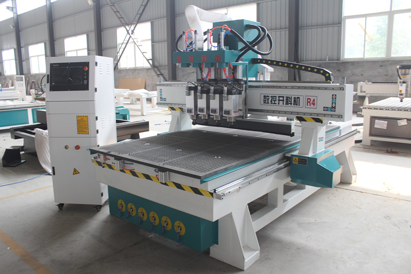 Four spindles nesting simple atc CNC router machine - 副本